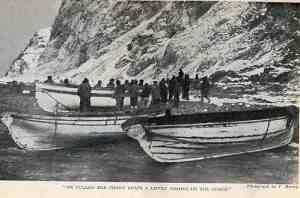 Boats on Elephant Island