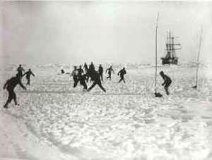 Football on ice