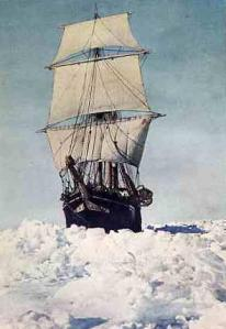 Endurance stuck in polar ice