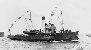 The Chillean steamer Yelcho