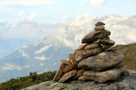 Image result for stones on a mountain