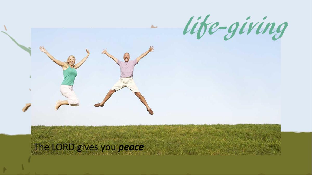 life-giving