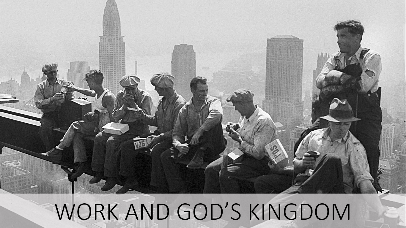 Your work and God's Kingdom