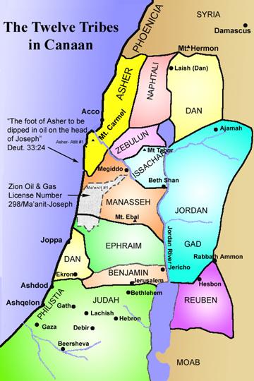 map_twelvetribes_Israel