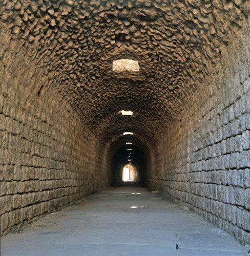 Pergamum the sacred tunnel