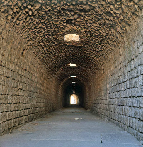 Pergamum the sacred tunnel