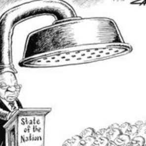 Zapiro's commentary on SA President Jacob Zuma