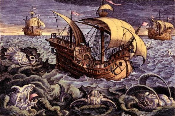 In ancient literature the seas were synonymous with menace, mystery and monsters.