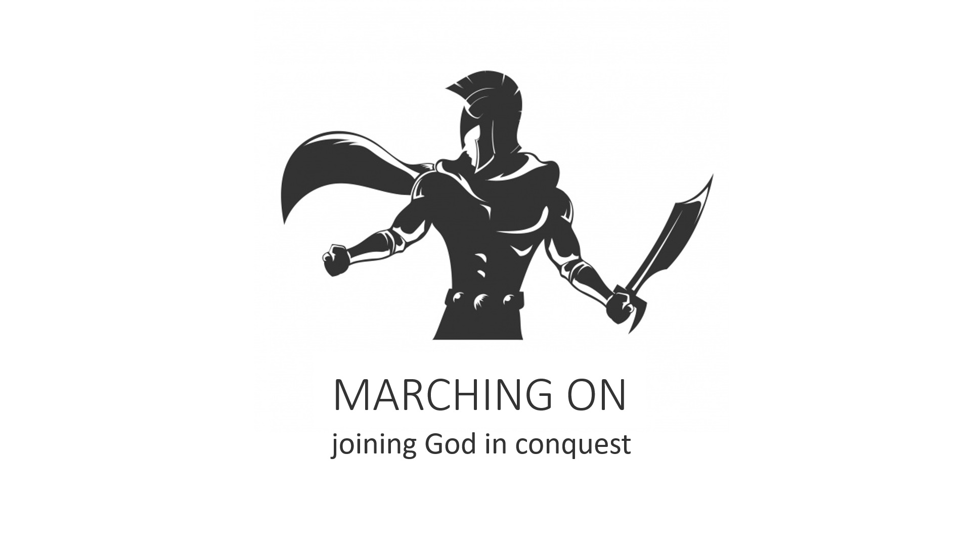 Marching on – joining God's restoration